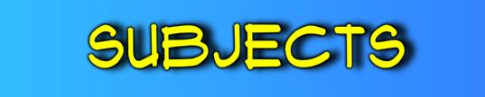 Subject banner